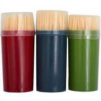 Зубочистки бамбуковые «классические» 62 мм, 60 шт 6,5×2,5 см