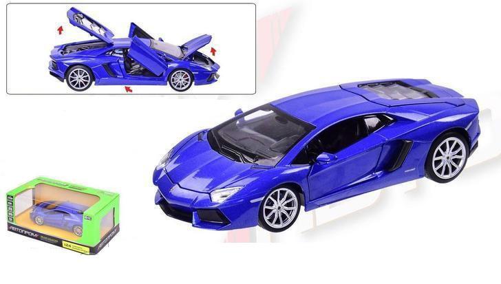 Машина металлическая  Lamborghini Aventador LP700-4