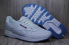 Чоловічі білі кросівки в стилі Reebok Classic White(розміри в наявності:44,45)