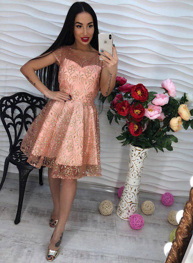Платье из органзы. (500)