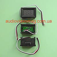Вольтметр DC 0-30V DVM-368 для постоянного тока, цвет цифр - красный