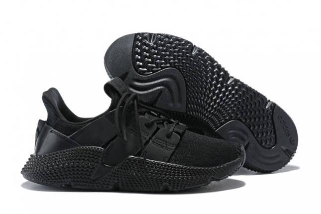 Мужские кроссовки Adidas PROPHERE ALL BLACK Черные, фото 2