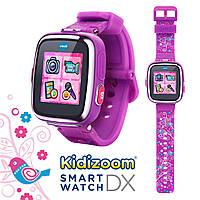 VTech Умные часы для детей Смарт часы Фотоаппарат Kidizoom Smartwatch DX  Violet e82fff4bc6b7f