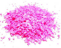 """Конфетти """"Хлопья"""" розовые. Вес:250гр."""
