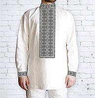 Заготовка чоловічої сорочки для вишивки бісером «Орнамент 537 С»