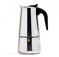 Гейзерная кофеварка из нержавеющей стали 450 мл, 9 порции