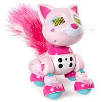 Zoomer Интерактивный котенок Чик Meowzies Chic Interactive Kitten with Lights Sounds and Sensors, фото 1