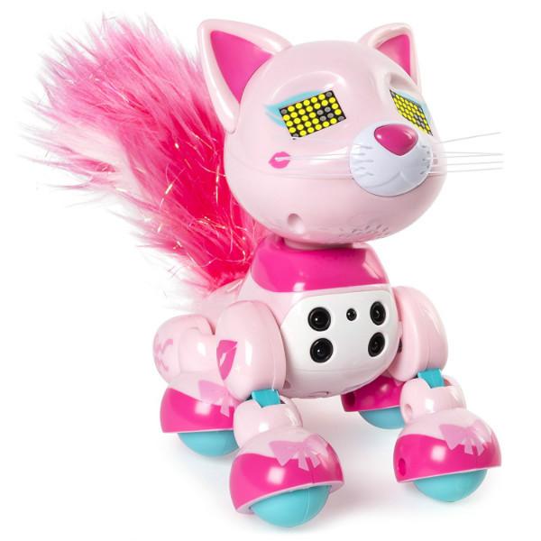 Zoomer Интерактивный котенок Чик Meowzies Chic Interactive Kitten with Lights Sounds and Sensors