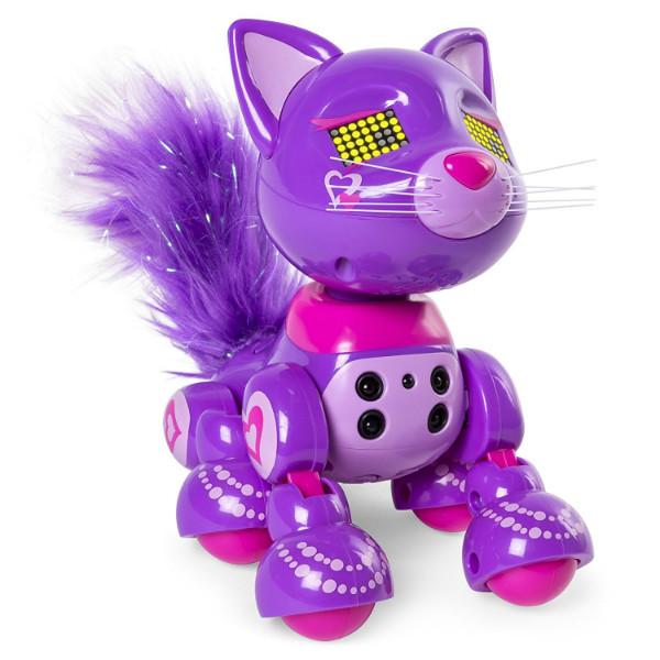 Zoomer Интерактивный котенок шикарный Meowzies Posh Interactive Kitten with Lights Sounds and Sensors