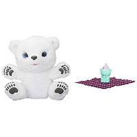 FurReal Friends Интерактивный полярный Медвежонок Snifflin' Sawyer B9073 ЭКОУПАКОВКА
