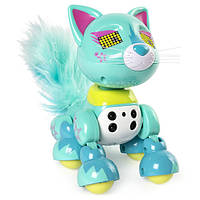 Zoomer Интерактивный котенок Люкс Meowzies Lux Interactive Kitten with Lights Sounds and Sensors
