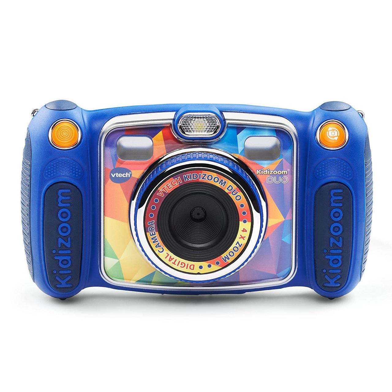 VTech Детский фотоаппарат с видео записью Kidizoom DUO Camera Blue