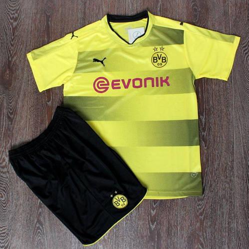 Футбольная форма Боруссия Дортмунд желто-черная сезон 2017-18