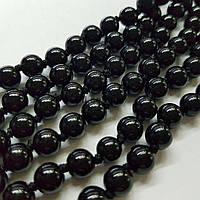 Агат вены дракона бусины 10 мм, ~41 шт / нить, натуральные камни, на нитке, черные, заказ делайте через сайт в описание товара