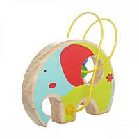 Развивающая и обучающая игрушка - Лабиринт Слон