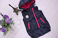 Детская жилетка для девочек от 98 от 128 см рост, фото 1