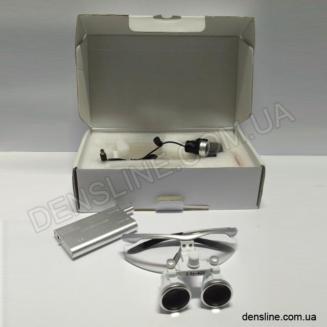 Бинокуляры с подсветкой 3.5x - 420 NaviStom
