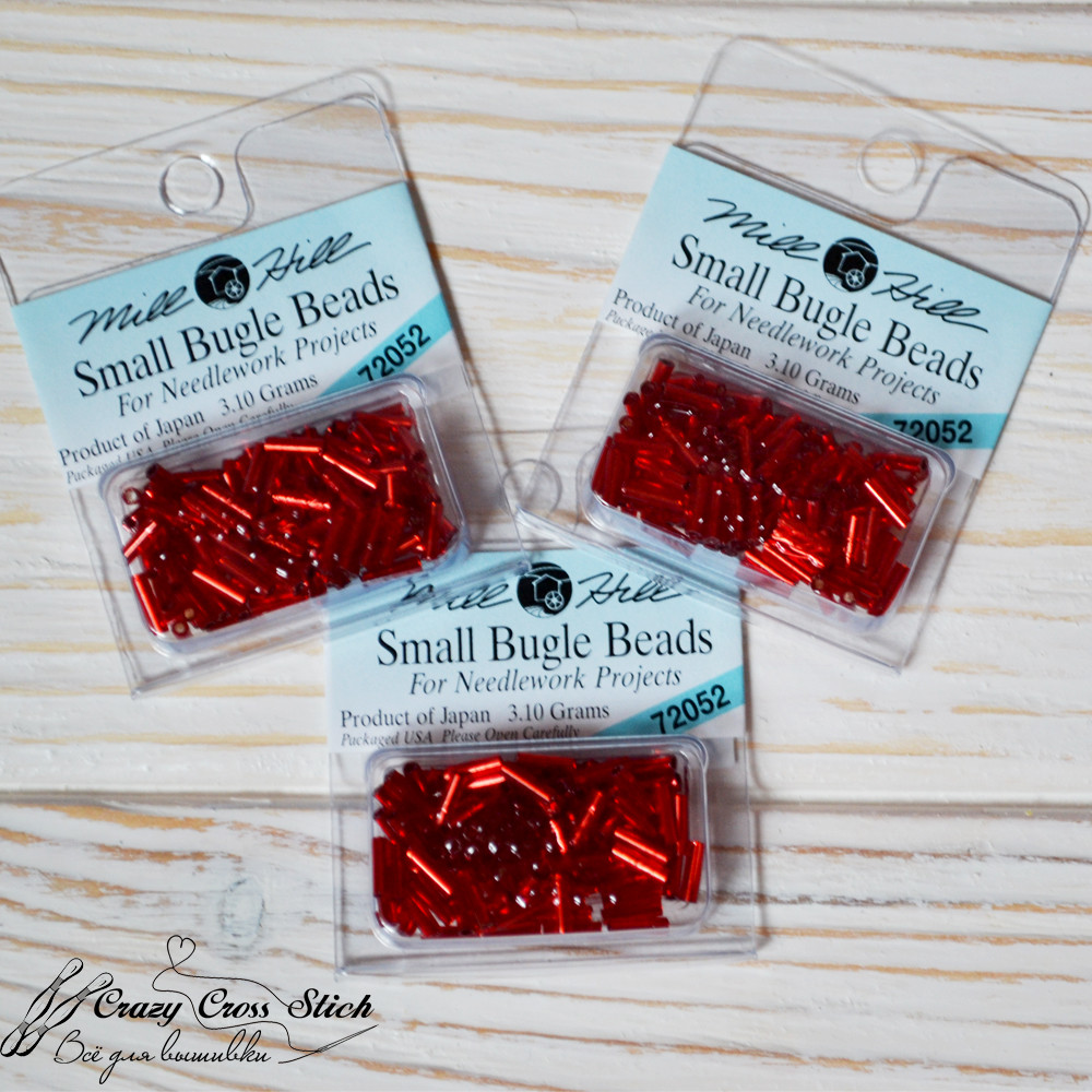 Бисер Small Bugle Beads 11/0 (6 mm) Mill Hill 72052