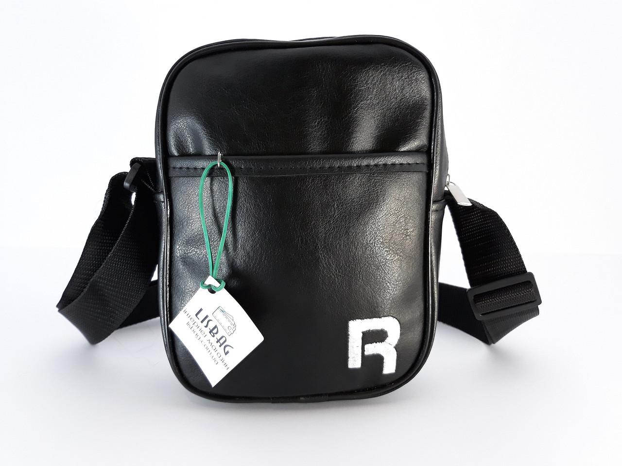 30134c1cb30c Большая мужская сумка планшетка через плечо копия Reebok , черная -  Интернет магазин Lisbag в Умани