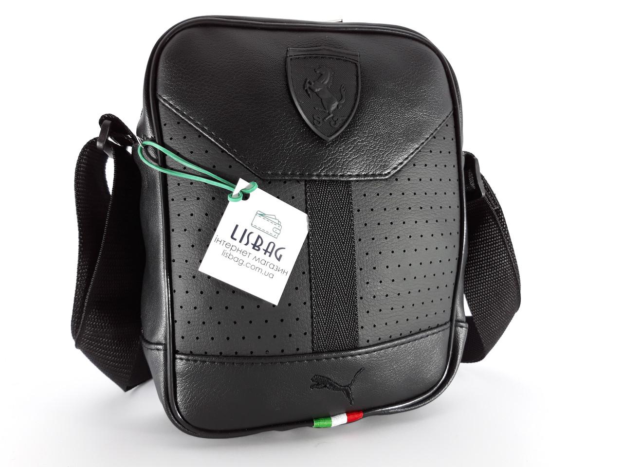 428545e427e5 Сумка спортивного типа через плечо Puma реплика люкс качества 2х  компонентная кожа PU, ...