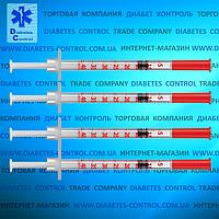Шприц инсулиновый Vogt U-40, 1 мл, 30G, 1 шт.