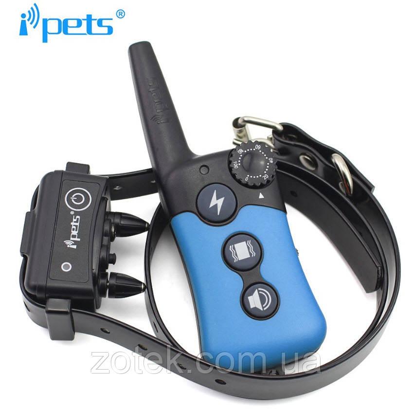 Электронный ошейник для дрессировки собак Ipets PET619, водонепроницае
