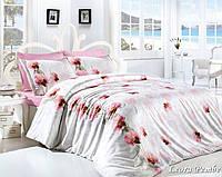 Комплект постельного белья First Choice Ranforce семейный Leora pembe