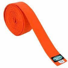 Пояс для кимоно OLIMPIC оранжевый GREEN HILL