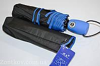 """Женский черный зонт автомат от фирмы """"SL""""."""