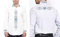 Заготовка чоловічої сорочки для вишивки бісером «Флірт світла»