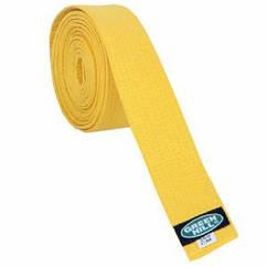 Пояс для кімоно GREEN HILL OLIMPIC жовтий