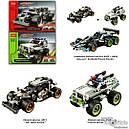 """Конструктор Decool 3417 (Lego Technik 42046) """"Гоночный автомобиль для побега"""", 170 дет , фото 2"""