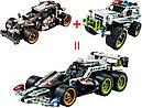 """Конструктор Decool 3417 (Lego Technik 42046) """"Гоночный автомобиль для побега"""", 170 дет , фото 3"""