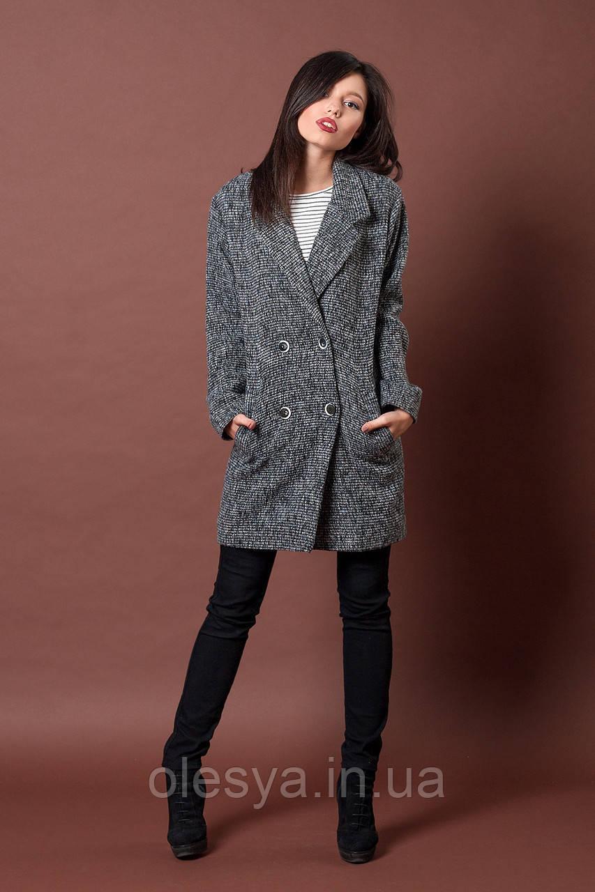 Пальто женское молодежное. Код модели П-04-41-16