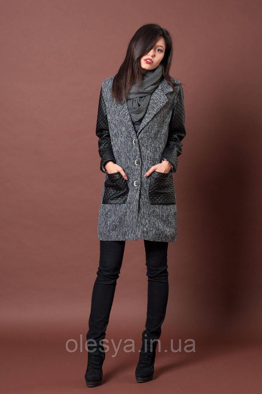 Пальто женское молодежное. Код модели П-05-41-16 Размер 42
