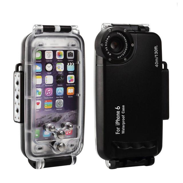 Подводный бокс HAWEEL HWL-2500B для Apple iPhone 6 / iPhone 6S - Black