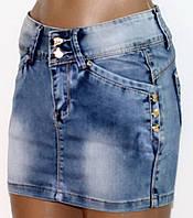 Юбка джинсовая для женщин р. 42   арт. 88097 Турция