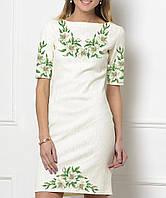 Заготовка жіночого плаття чи сукні для вишивки та вишивання бісером Бисерок  «Лілії 1381» ( 9cce46399c85f