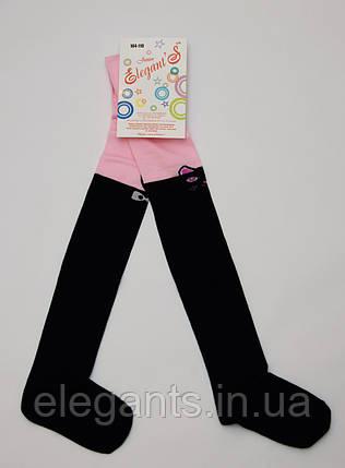 Колготки для девочек 104-110 см./ 4-5 лет /90% хлопок, фото 2