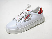 Кроссовки женские Meinalin белого цвета