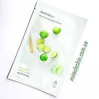 Маска тканевая Innisfree It`s real squeeze mask lime