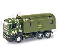 """Металлическая машина """"Военный грузовик"""""""