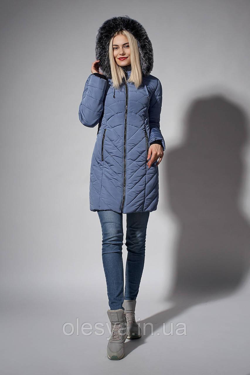 Зимнее женское молодежное пальто. Код К-108-58-18.