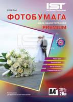 Фотобумага IST Premium шелковистая 260гр/м, А4 (21х29.7), 50л.