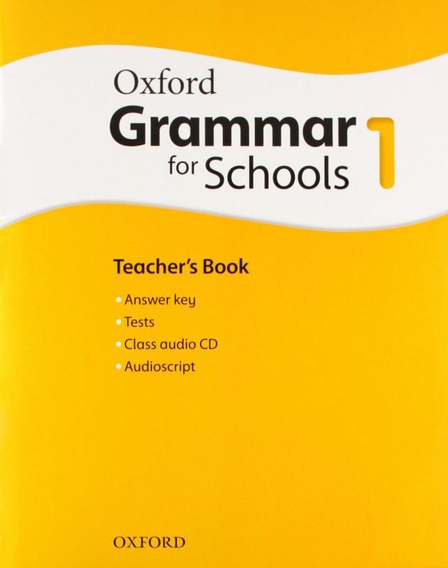 Oxford Grammar for Schools 1 Teacher's Book with Audio CD (Книга учителя)
