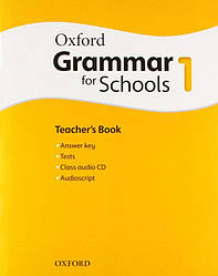 Oxford Grammar for Schools 1 Teacher's Book with Audio CD (Книга учителя)