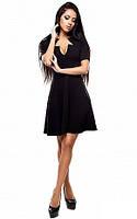 Класичне коктейльне плаття Malva, черный (S, L)