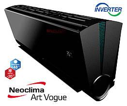 Кондиционер Neoclima серия ArtVogue BLACK inverter  модель NS/NU-12AHVIwb