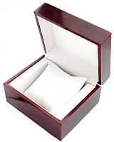 Деревянный футляр для часов, подарочная коробка для часов, коробка под дерево., фото 1