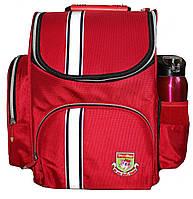 Ранец каркасный ортопедический Tiger Однотонный 63001 красный